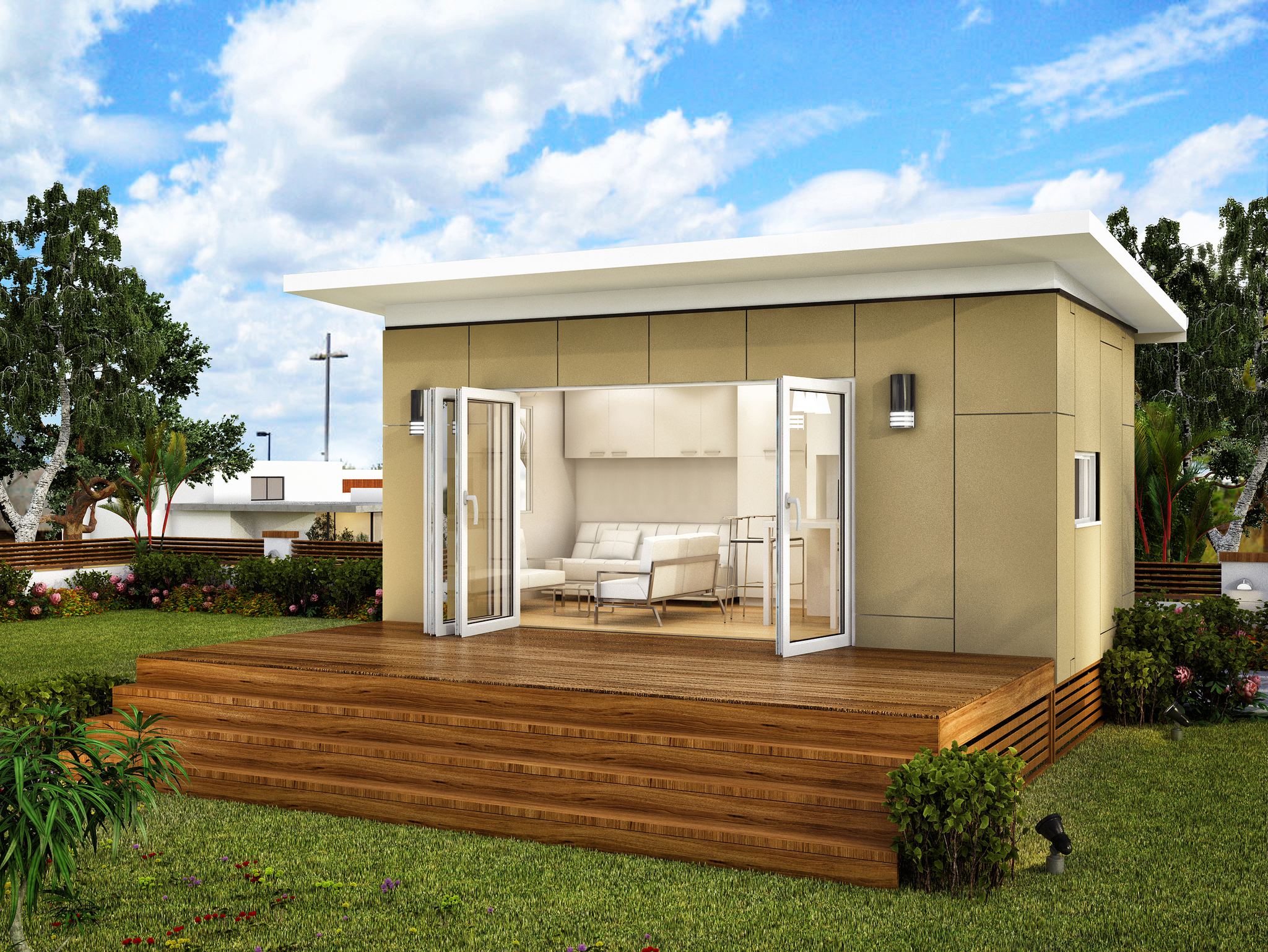 10 more container house design ideas container living for Granny homes