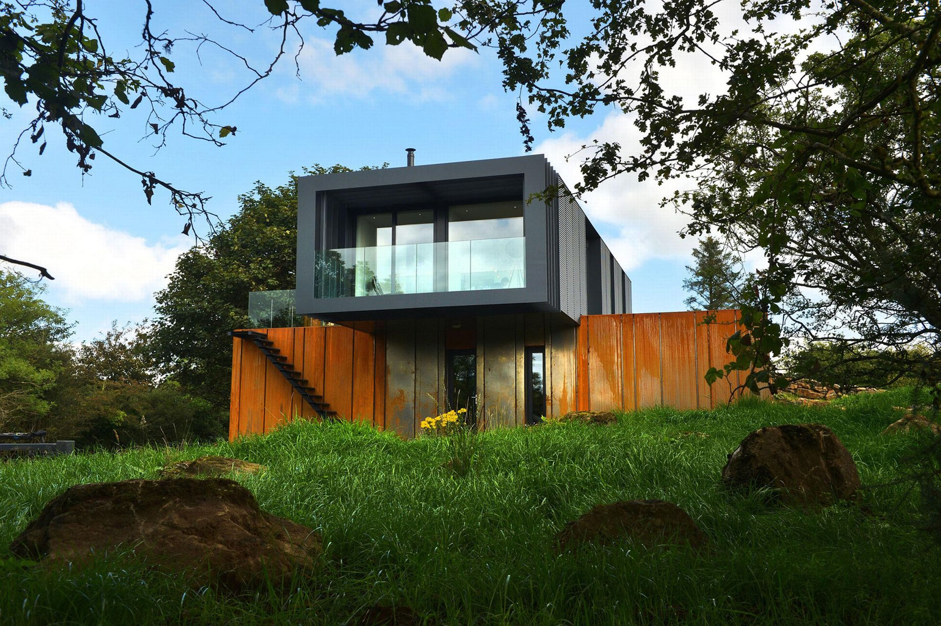 Top 10 shipping container homes container living for Home designs 4 you