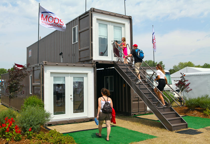 10 Modern 2 Story Shipping Container Homes Container Living