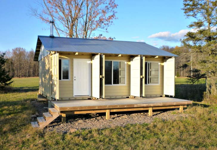 Grants for container homes container living for Homes built on your land with no money down