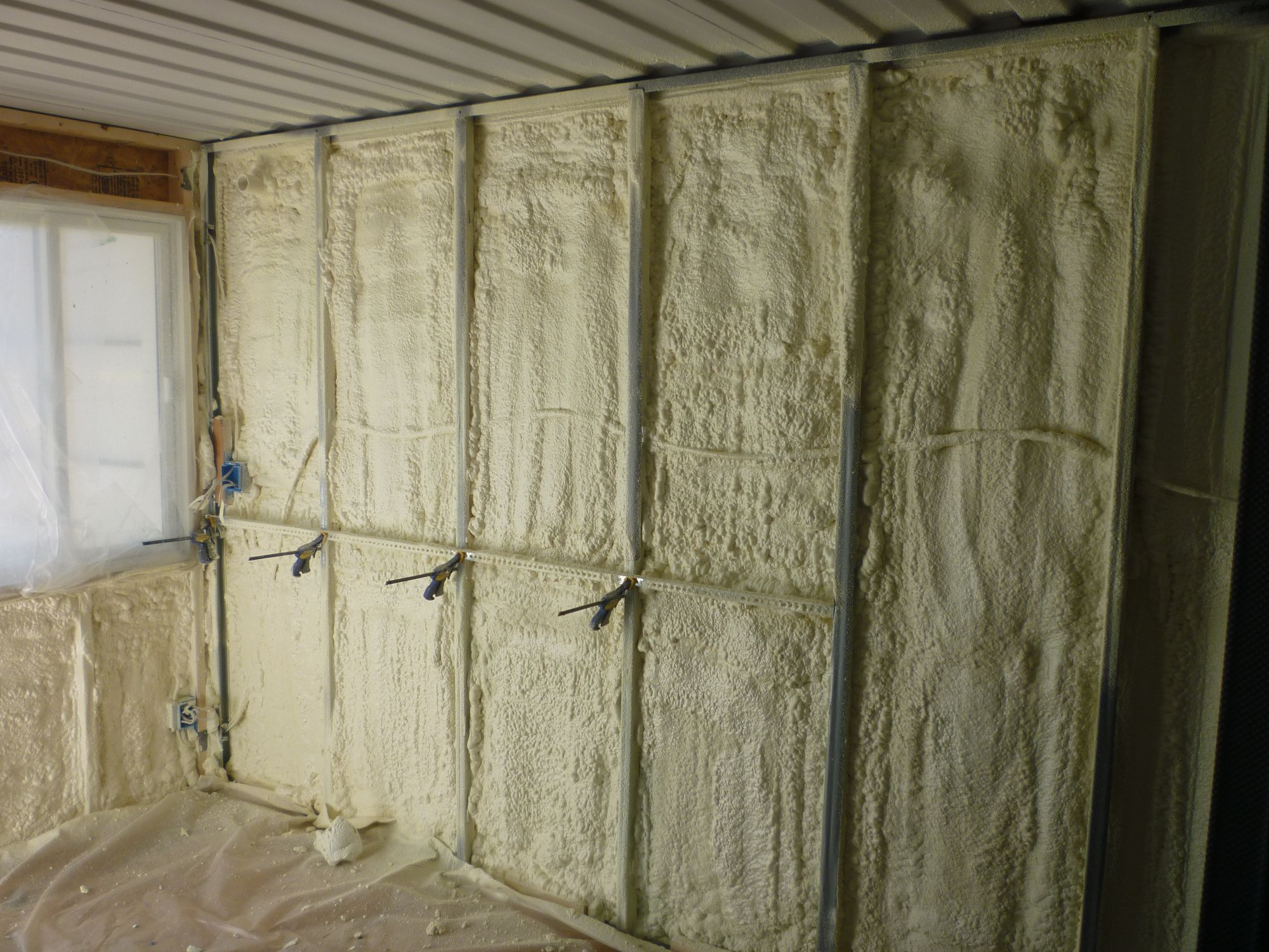 How to insulate shipping container homes container living - Insulating shipping container homes ...