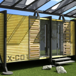 enery efficient shipping container home
