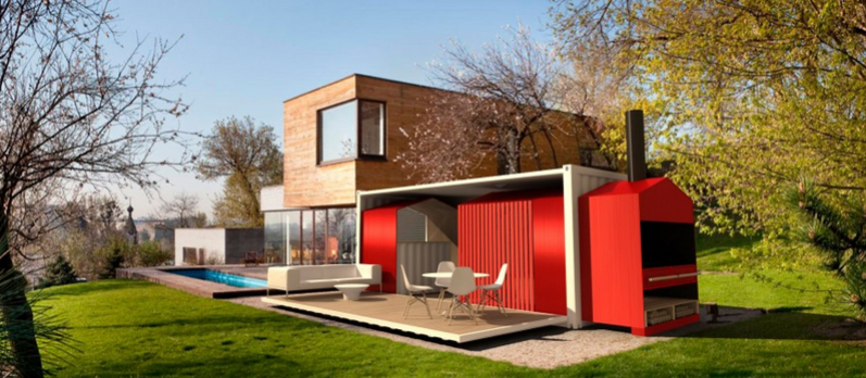 Shipping container homes designs container living for Shipping container home plans 2 story