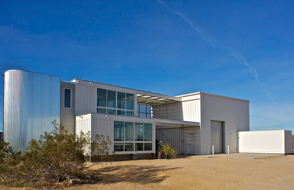 Scott Perry's Joshua Tree building