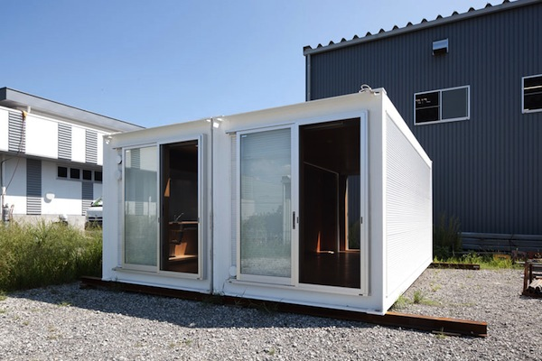 10 cool japanese container homes container living - Simple shipping container homes ...