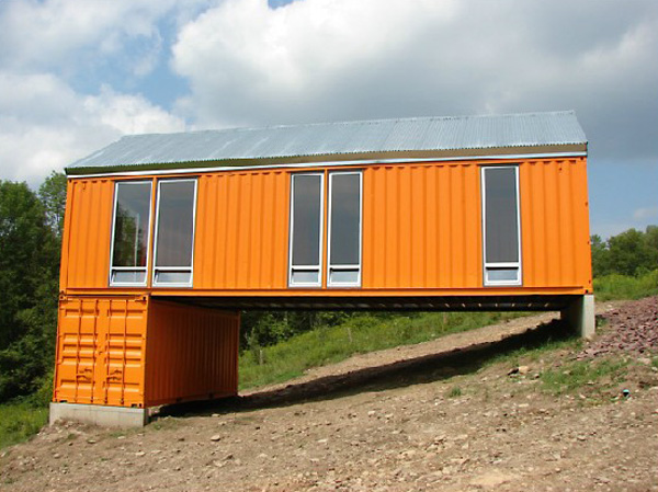 9 inspiring modular container home designs container living for Cargo home designs