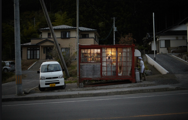#2 Container kitchen in japan