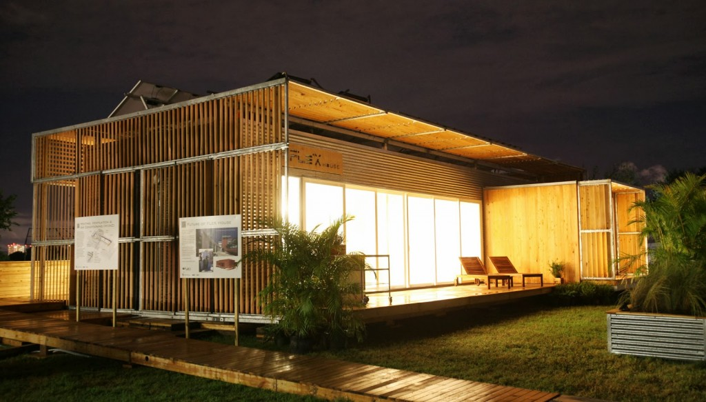 10 examples of large shipping container homes container for Tall shipping container