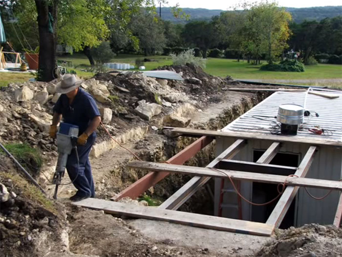 Most Underground Container Home Owners Donu0027t Like To Deal With The  Additional Step Of Building A Structure Of Support. But This Is Probably  The Most Vital ...