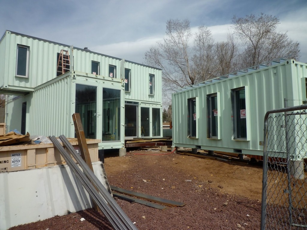 5 modern train container homes container living - Shipping container homes designs ...