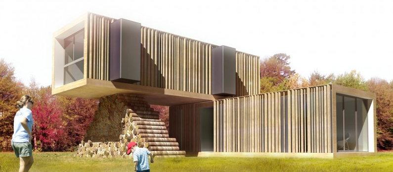 Jzeei container living - Large shipping container homes ...