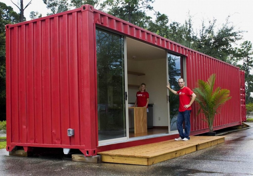 Container living shipping container homes designs for Studio conteneur prix